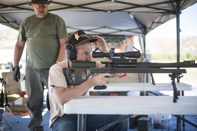 The 2016 Northern Rockies Machine Gun and Cannon Shoot on Saturday, June 4, 2016, on the Garrett Ranch near Casper, Wyoming.