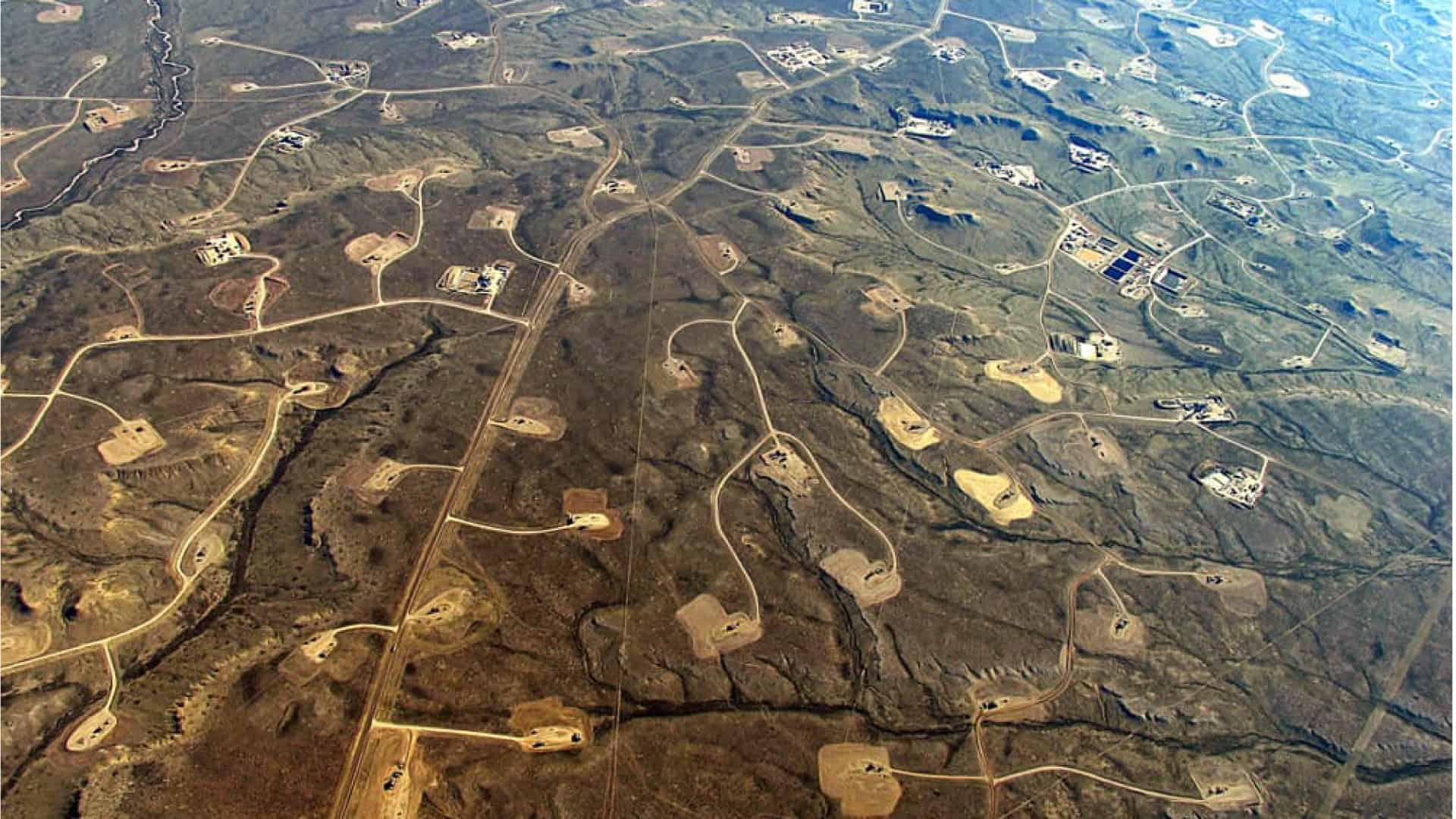 Jonah Oil Field in Northwest WY
