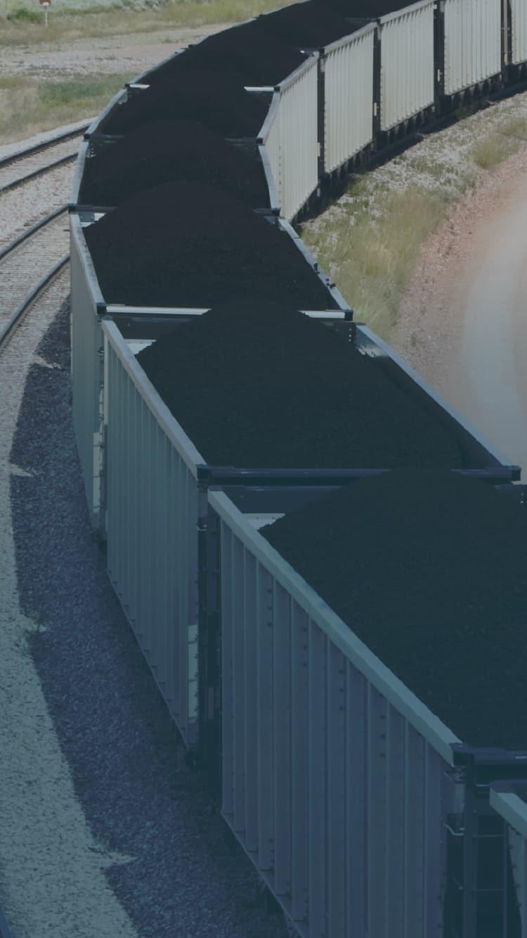 Coal Train full of coal